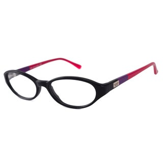 Kate Spade Readers Women's Kendall Oval Black/Red Reading Glasses