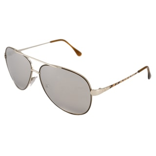 Emilio Pucci Women's EP131S Aviator Sunglasses with Metal Frame
