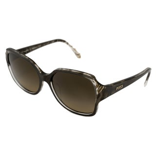 Emilio Pucci Women's EP687S Rectangular Sunglasses