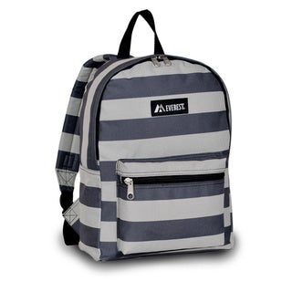 Everest Grey Striped 15-inch Backpack