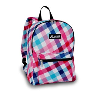 Everest Red/Blue Diamond 15-inch Backpack
