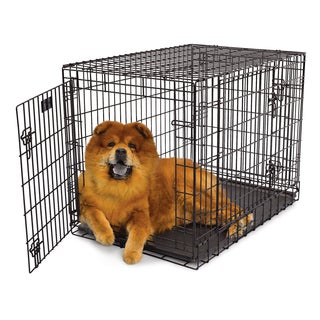 Midwest Ultima Pro Black Steel 2 Door Dog Crate