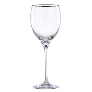 Lenox Timeless Platinum Signature Crystal Wine Glass