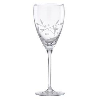 Lenox Opal Innocence Signature Crystal Wine Glass