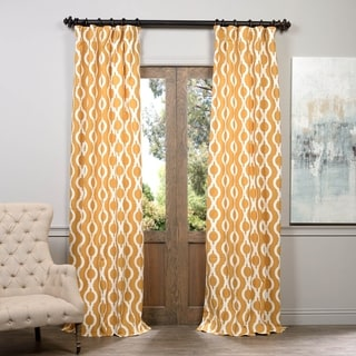 Exclusive Fabrics Medina Printed Cotton Curtain Panel
