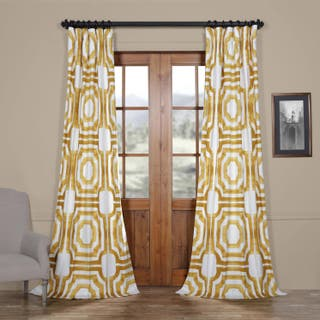 Gold, 108 Inches Curtains & Drapes For Less | Overstock.com