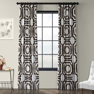 Exclusive Fabrics Mecca Printed Cotton Curtain Panel