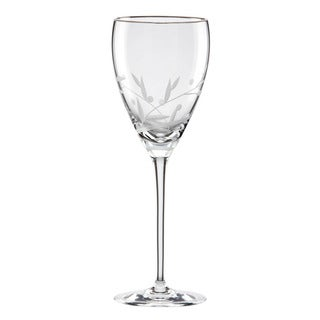 Lenox Opal Innocence Platinum Signature Crystal Goblet