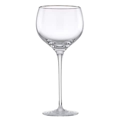 Lenox Solitaire Platinum Signature Crystal Wine Glass