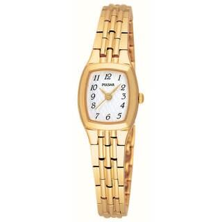 Pulsar Women's 'PPH508' Goldtone Stainless Steel Watch