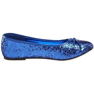 Funtasma Women's 'Star-16G' Glitter Ballerina Flats