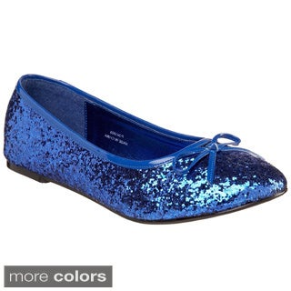 Funtasma Women's 'Star-16G' Glitter Ballerina Flats (More options available)