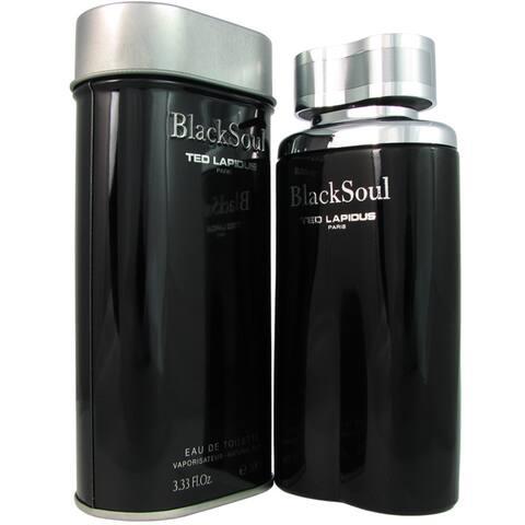 Ted Lapidus Black Soul Men's 3.3-ounce Eau de Toilette Spray