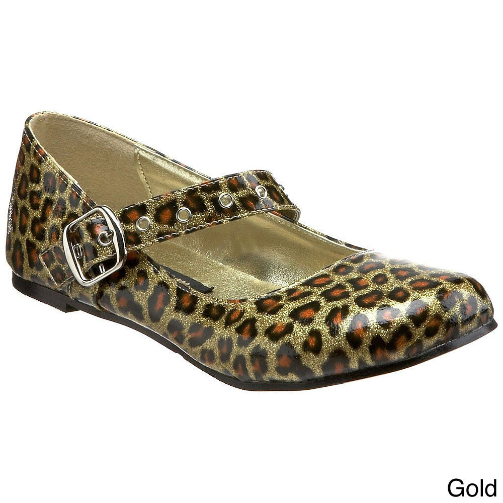 Demonia Women's 'Daisy-04' Patent Faux Leather Cheetah Pr...