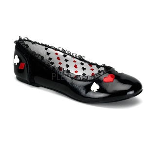 Funtasma Women's 'Alice-12' Black Alice in Wonderland Mary Jane Flats