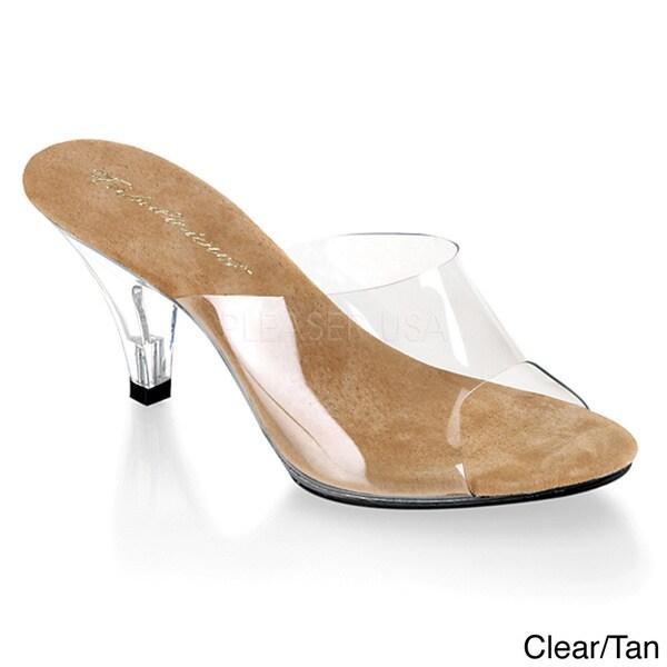 Pleaser Women's 'BELLE-301' Stiletto Heel Shoes