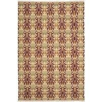 Safavieh Hand-knotted David Easton Lavender Henna Wool Rug - 6' x 9'