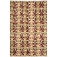 Safavieh Hand-knotted David Easton Lavender Henna Wool Rug - 8' x 10'