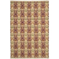 Safavieh Hand-knotted David Easton Lavender Henna Wool Rug - 9' x 12'