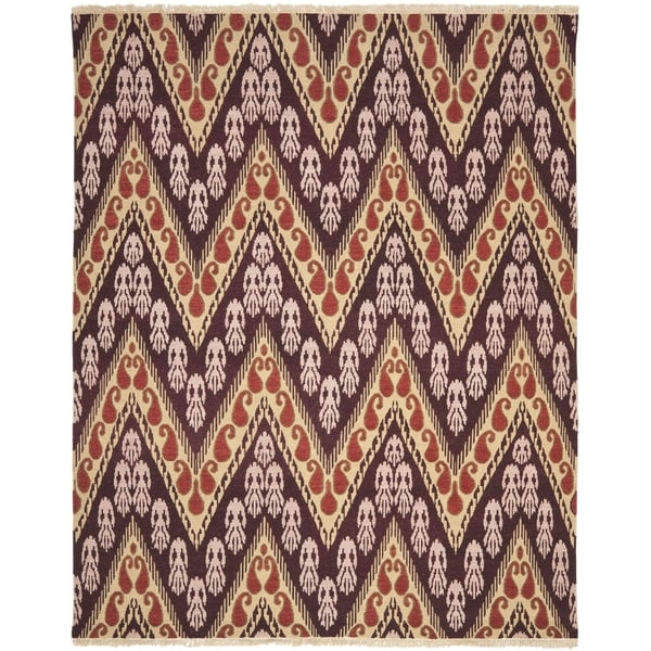 Safavieh Hand-knotted David Easton Amethyst Purple Wool Rug - 8' x 10'