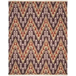 Safavieh Hand-knotted David Easton Amethyst Tlight Wool Rug (9' x 12')