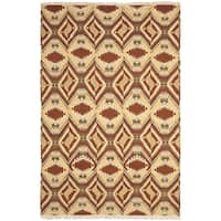 Safavieh Hand-knotted David Easton Paprika Wool Rug - 9' x 12'