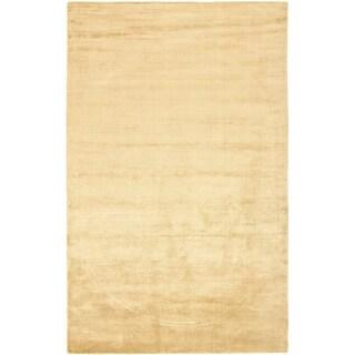 Safavieh Handmade Mirage Modern Tonal Gold Viscose Rug (8' x 10')