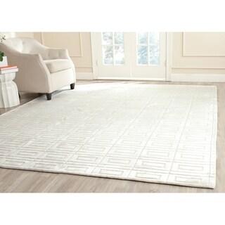 Safavieh Handmade Mirage Modern Pearl Viscose Rug (9' x 12')