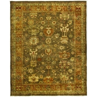 Safavieh Hand-knotted Oushak Brown/ Rust Wool Rug (10' x 14')