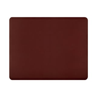 WellnessMats Burgundy Original Smooth Anti-fatigue Floor Mat (5' x 4')