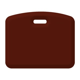 CompanionMat Burgundy On-the-Go Anti-fatigue Floor Mat