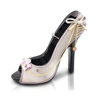 Jacki Design Vintage Stiletto Shoe Ring Holder
