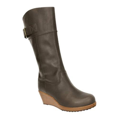 d9888b9988c481 Shop Women s Crocs A-leigh Leather Boot Espresso Walnut - Free Shipping  Today - Overstock - 8286881