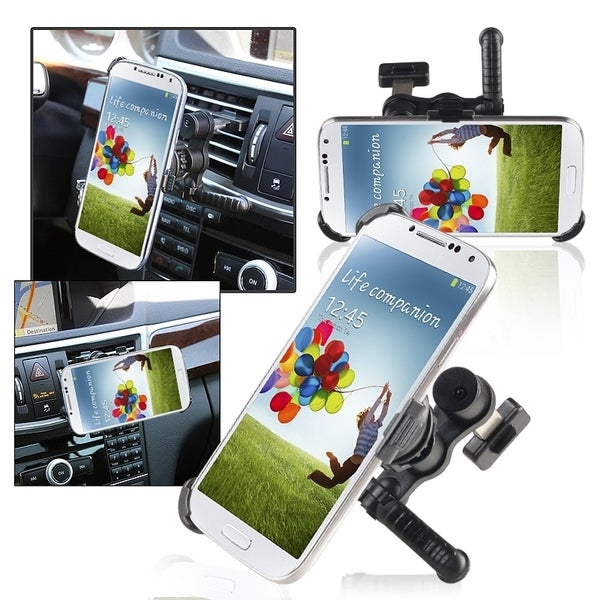 INSTEN Swivel Car Air Vent Holder Mount/ Plate for Samsung Galaxy S4