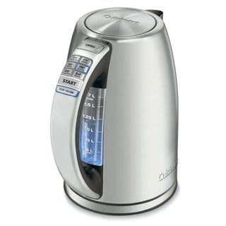 Cuisinart CPK-17 Stainless Steel PerfecTemp Cordless Electric Kettle (Refurbished)