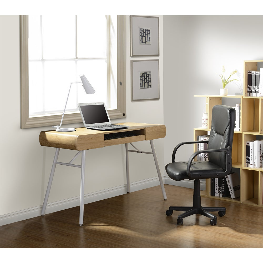 Enterprises Modern Design Semi-Assembled Computer Desk (P...