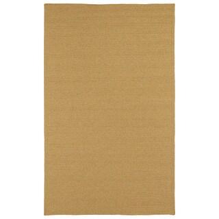 Malibu Indoor/Outdoor Woven Apricot Rug (3'0 x 5'0)