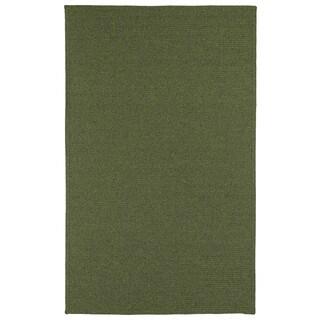 Malibu Indoor/Outdoor Woven Green Rug - 5' x 8'