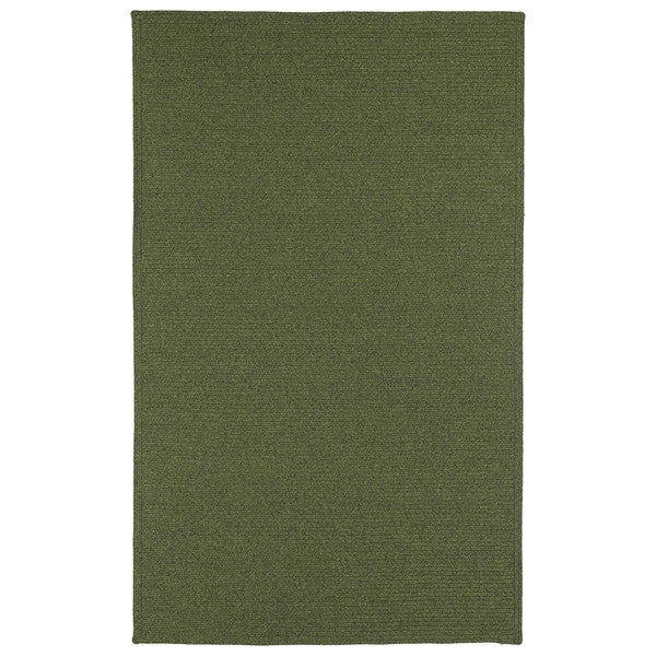 Malibu Indoor/Outdoor Woven Green Rug - 9'0 x 12'0