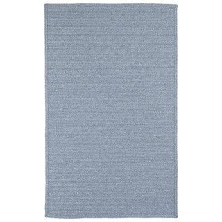 Malibu Indoor/ outdoor Woven Light Blue Rug (5'x 8') - 5' x 8'