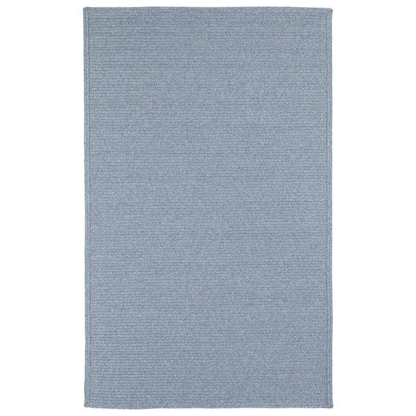 Malibu Indoor/ outdoor Woven Light Blue Rug (9'x12')