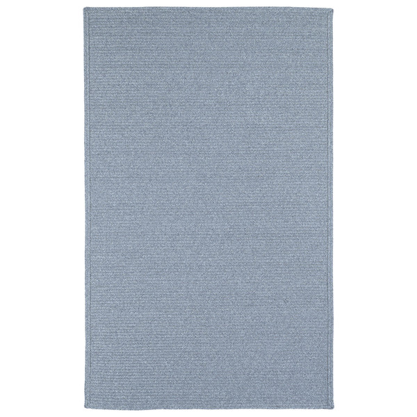 Malibu Indoor/ outdoor Woven Light Blue Rug - 9'x12'