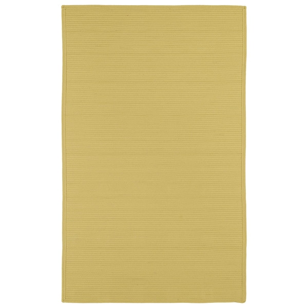 Malibu Indoor/ outdoor Woven Yellow Rug (9'x12') - 9' x 12'