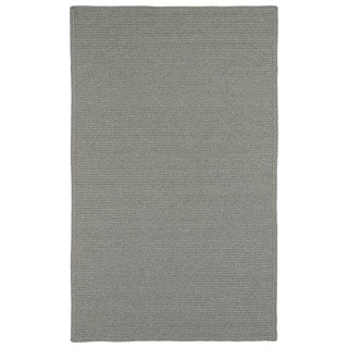 Malibu Indoor/ outdoor Woven Grey Rug (2'x3')