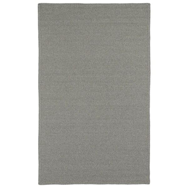 Malibu Indoor/ outdoor Woven Grey Rug - 8' x 11'