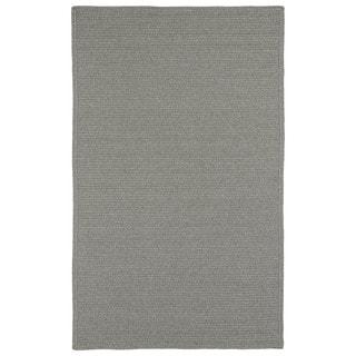 Malibu Indoor/ outdoor Woven Grey Rug (9'x12')
