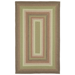 Safavieh Hand Woven Reversible Brown Braided Rug 8 X 10