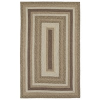 Malibu Indoor/ outdoor Woven Mocha Rug - 2' x 3'