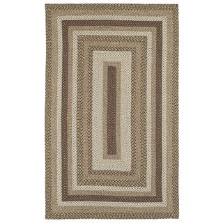 Malibu Indoor/ outdoor Woven Mocha Rug (8'x11')