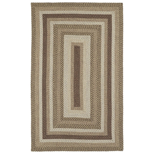 Malibu Indoor/ outdoor Woven Mocha Rug - 9' x 12'